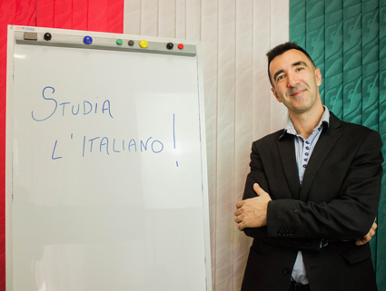 teacher of italian language Sanremo